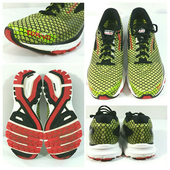 ca31068200e Brooks Shoes - Brooks Launch 3 Tokyo Dragon Green Running Shoes